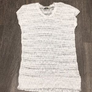 Neiman Marcus Cotton Pull Over Cover Up